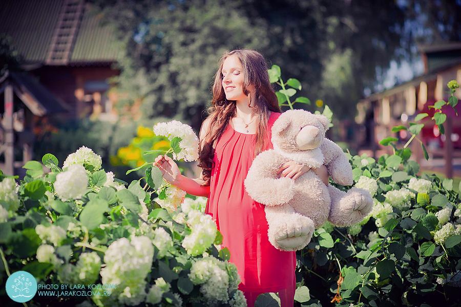 Фотосессия беременности в парке Коломенское