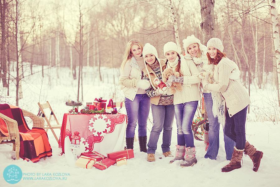 идеи для зимней семейной фотосессии