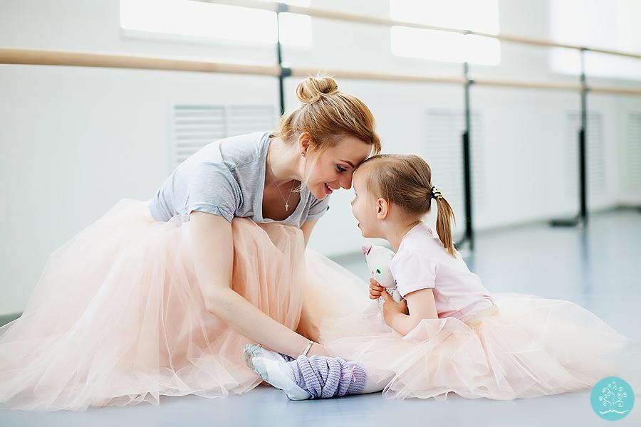фотосессия маленькой балерины