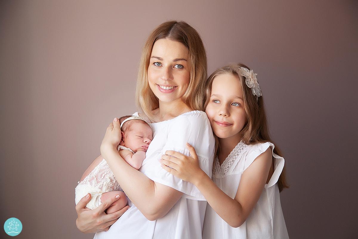 фотосессия новорожденного в Красногорске